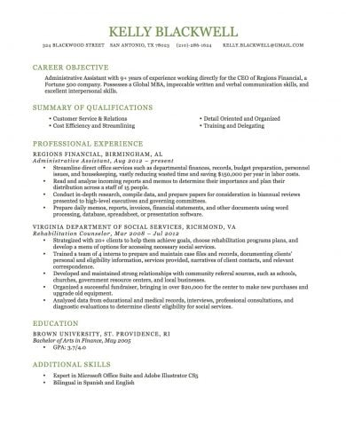 Resume Template 3  How To Create Resume
