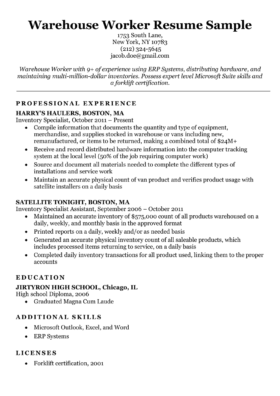 Electrician Resume Sample Writing Tips Resume Companion