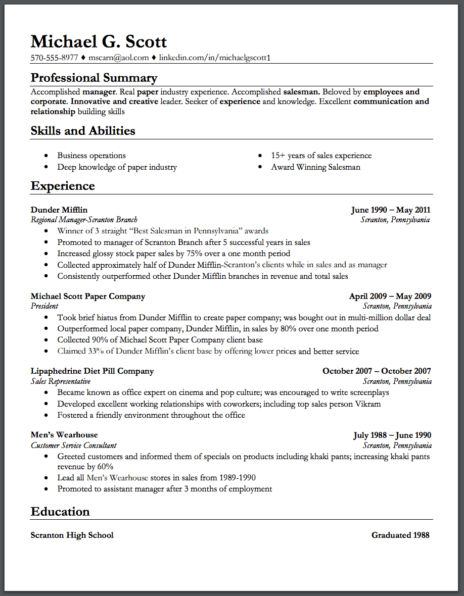 Resume Companion Scholarship