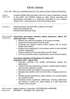 Amethyst Purple Quick Resume Template