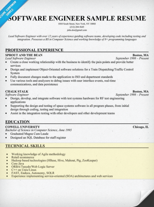 Ux Resume Pdf How To Write A Skills Section For A Resume  Resume Companion Human Resource Generalist Resume Pdf with Actual Free Resume Builder Excel Software Engineer Resume Example Student Resume Template Word