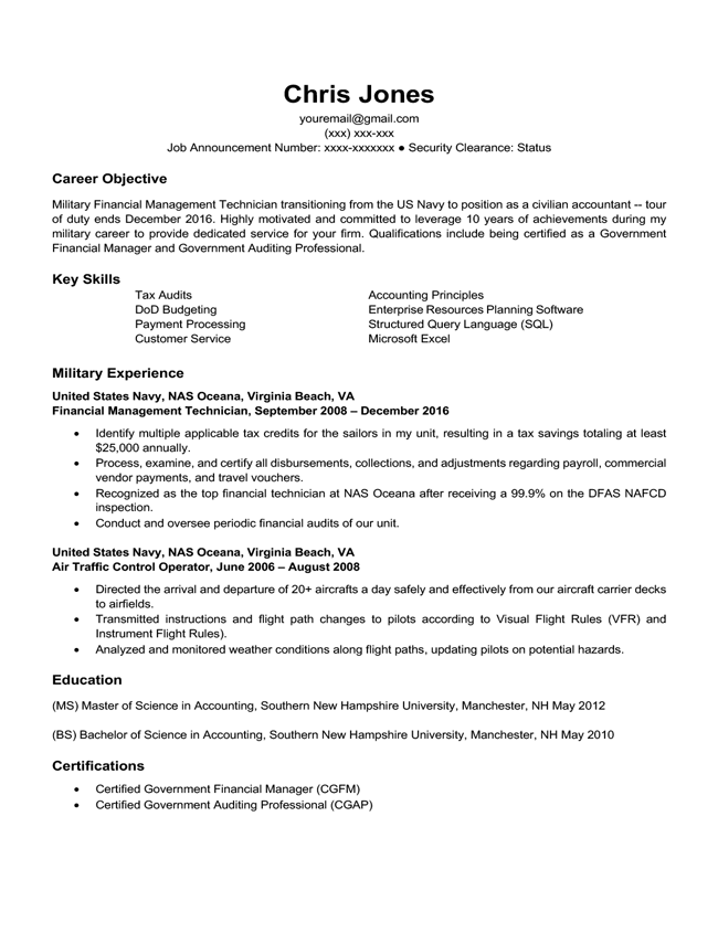 Career Life Situation Resume Templates