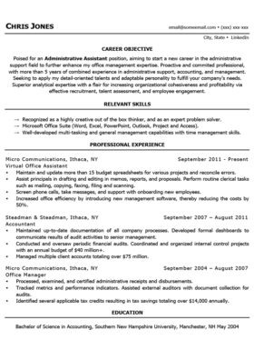 Black and White Stay-at-home mom resume template