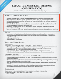 what is summary of qualifications on a resume