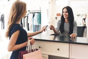 retail manager customer transaction