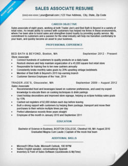 Sales Associate Cover Letter Sample | Resume Companion