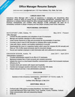 office manager resume sample - Office Assistant Resume Sample