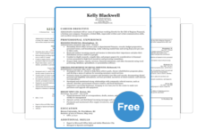 resume builder free print - Template