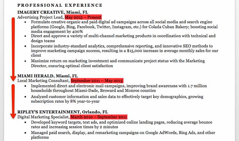 Marketing Resume Sample  Writing Tips  Resume Companion