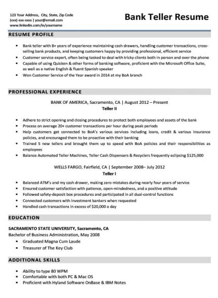 Bank Teller Cover Letter Sample & Tips | Resume Companion