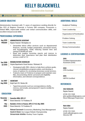 100 Free Resume Templates For Microsoft Word Resume Companion