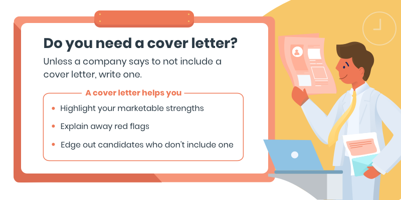 Reasons why you need a cover letter