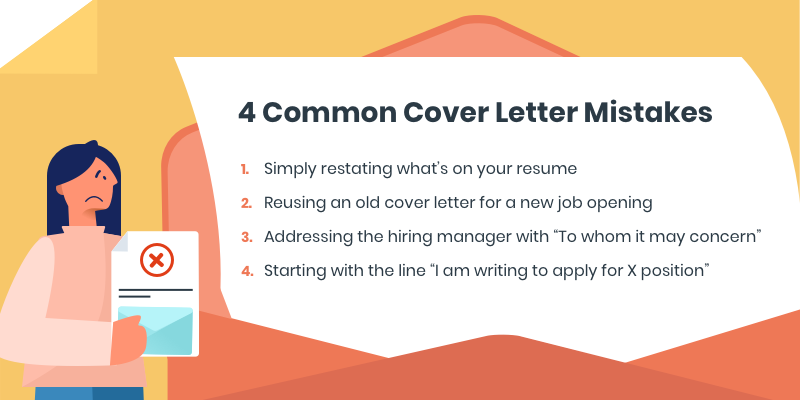 How to write a great cover letter without common mistakes