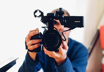 Making a video resume using a DSLR camera