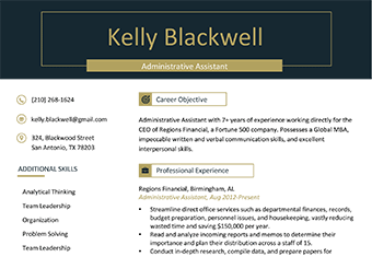 professional resume templates featured image