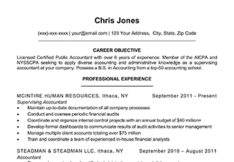 simple resume templates featured image